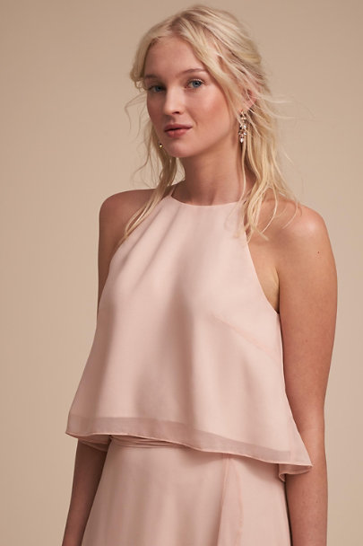 Donna Morgan Blush Etoile Top | BHLDN