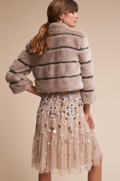 Taupe Oblivion Jacket | BHLDN