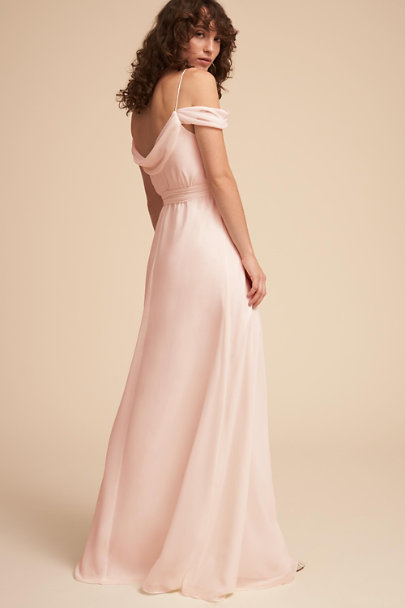 Watters Ice Pink Kane Dress | BHLDN