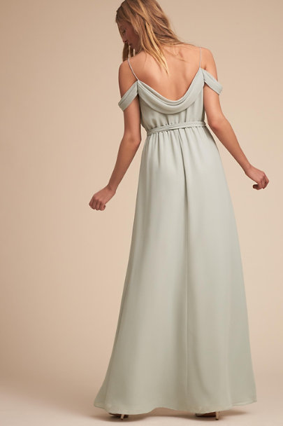 Watters Eucalyptus Kane Dress | BHLDN