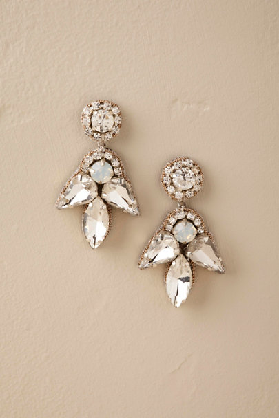 Deepa Silver Mandi Earrings  | BHLDN