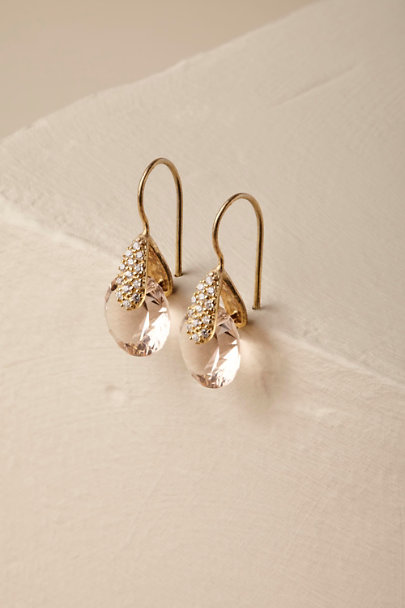 Gold Laurelie Earrings | BHLDN