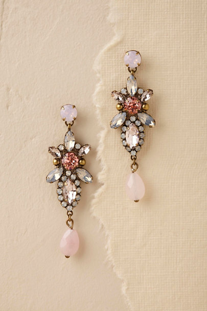Sorrelli Gold Eryka Chandelier Earrings  | BHLDN