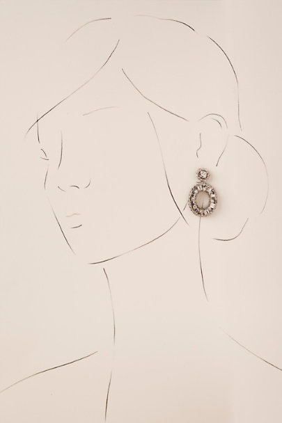 Deepa Silver Laine Earrings | BHLDN