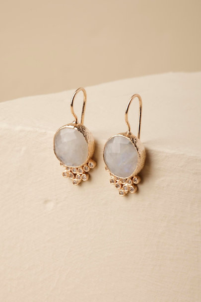 Gold Luanne Earrings | BHLDN
