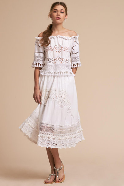 Place Nationale Ivory Bardot Top | BHLDN