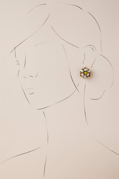 Gold Bette Stud Earrings | BHLDN