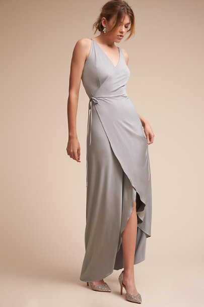 twobirds Silver Lily Dress | BHLDN