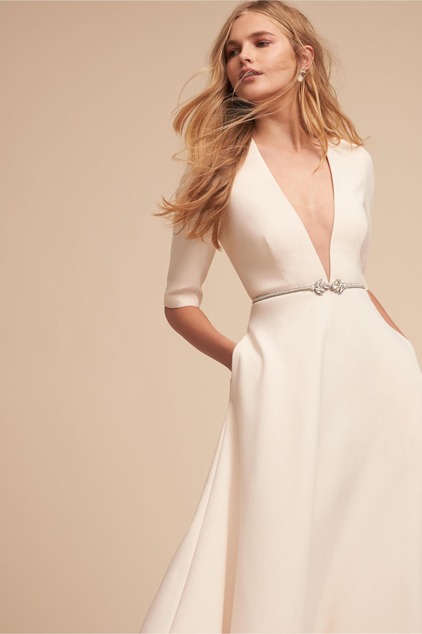 Kennedy Gown Rose in Bride | BHLDN