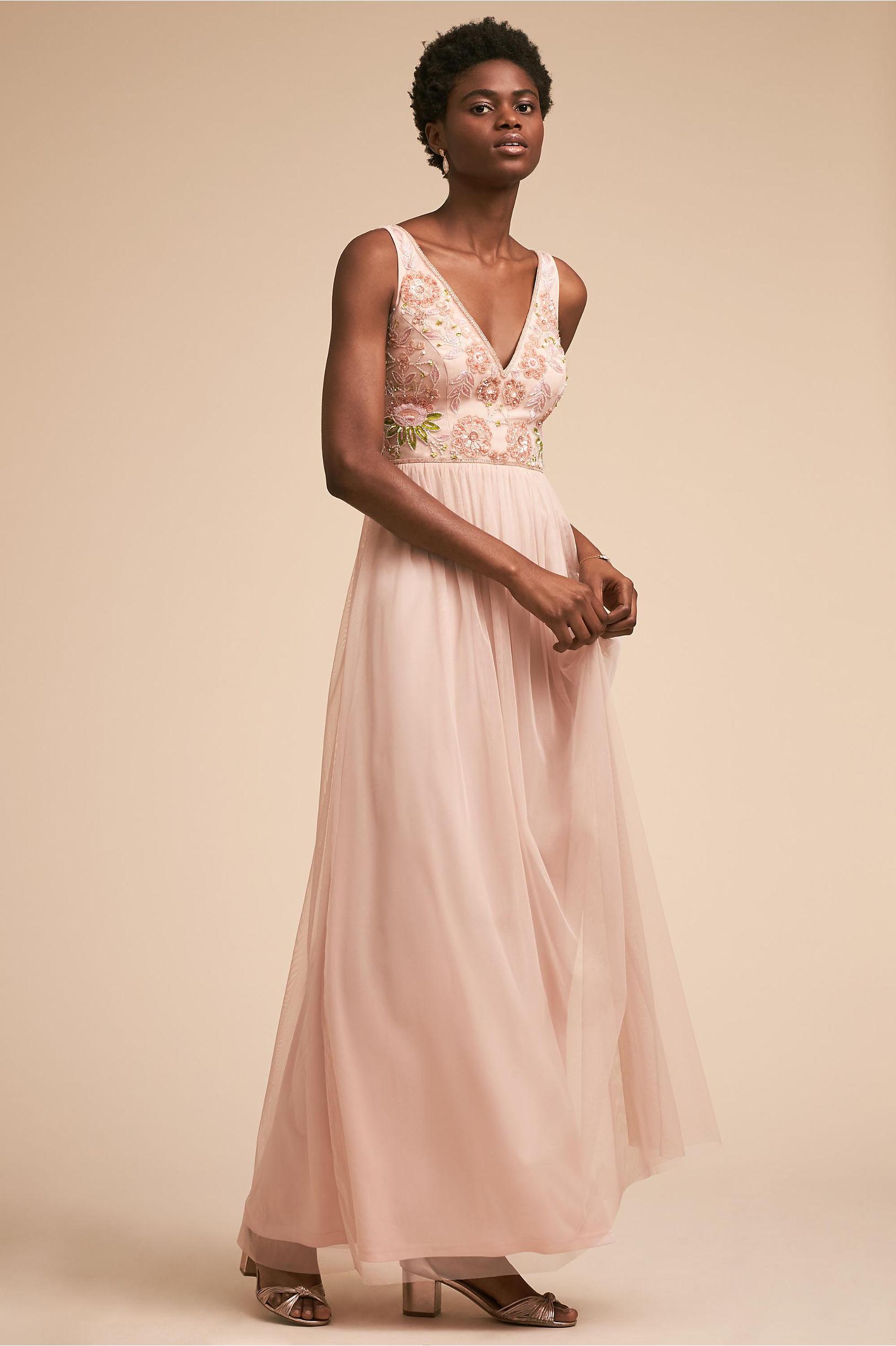 Floral print bridesmaid dresses bhldn hibiscus dress ombrellifo Gallery