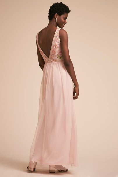 Adrianna Papell Shell Hibiscus Dress | BHLDN