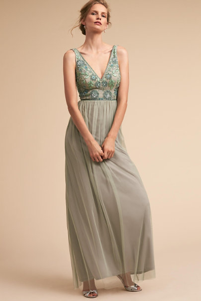d761b9ee3d1 Adrianna Papell Aquan Mist Hibiscus Dress