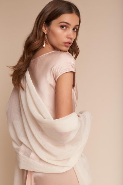 BHLDN Ivory Rue Pashmina | BHLDN