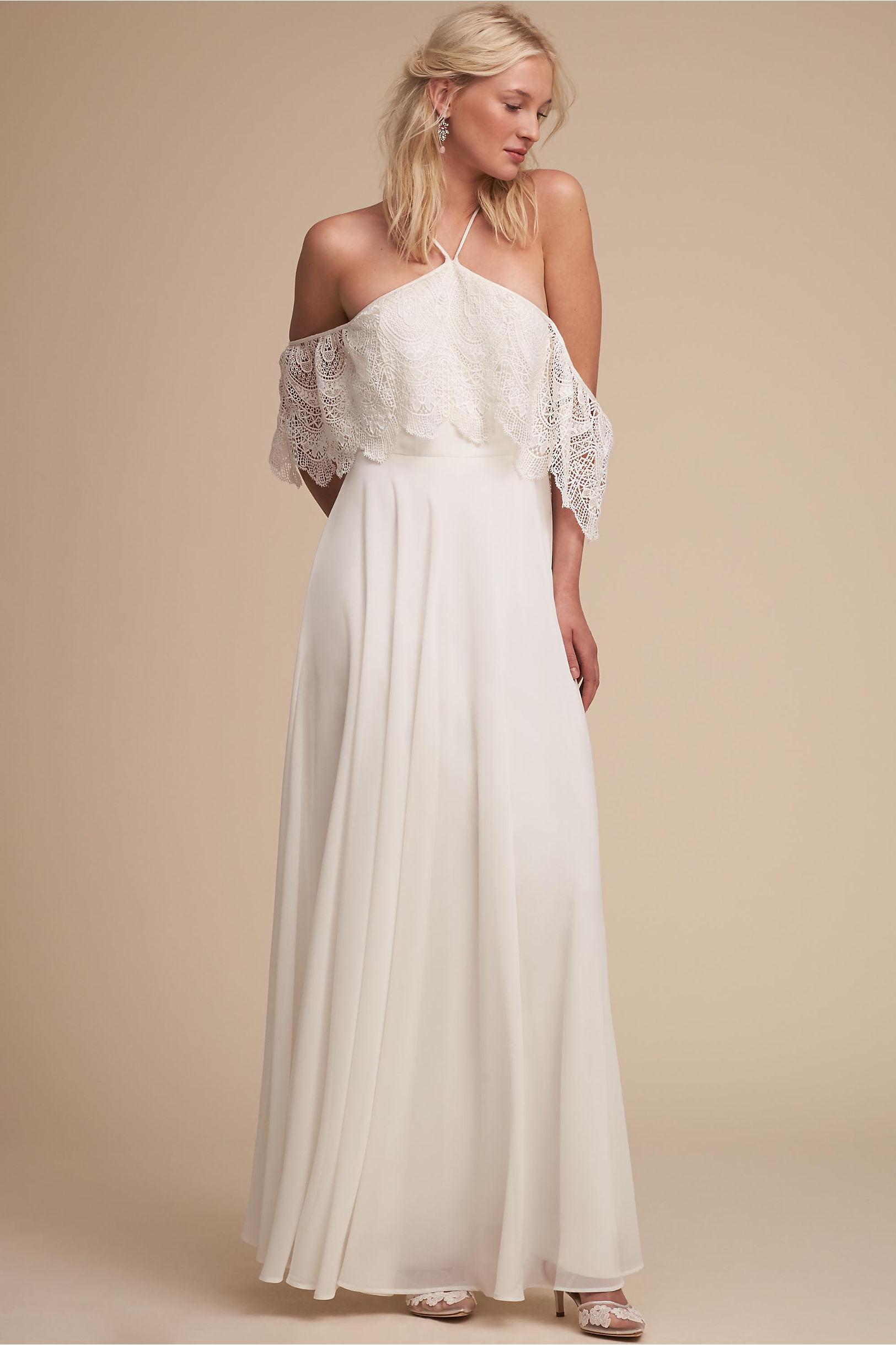 Pearson Dress Ivory in Bride | BHLDN