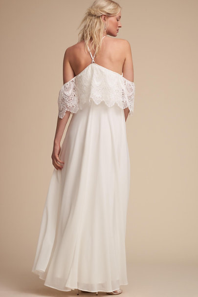 BHLDN Ivory Pearson Dress | BHLDN
