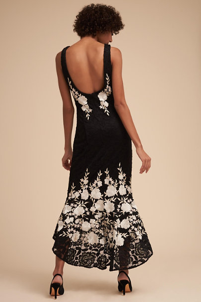 BHLDN Black/White Hewitt Dress | BHLDN