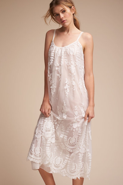 Rya Collection Ivory Miette Chemise | BHLDN