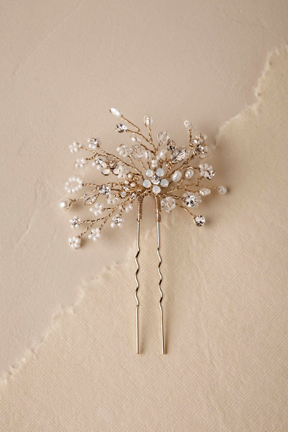 Twigs & Honey Gold Verbena Hair Pin | BHLDN