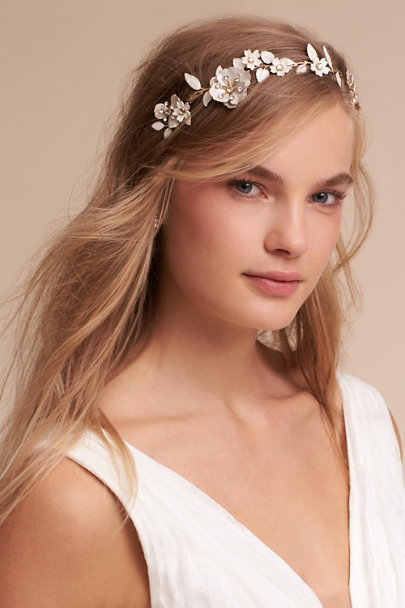 Twigs & Honey Gold Marice Circlet | BHLDN