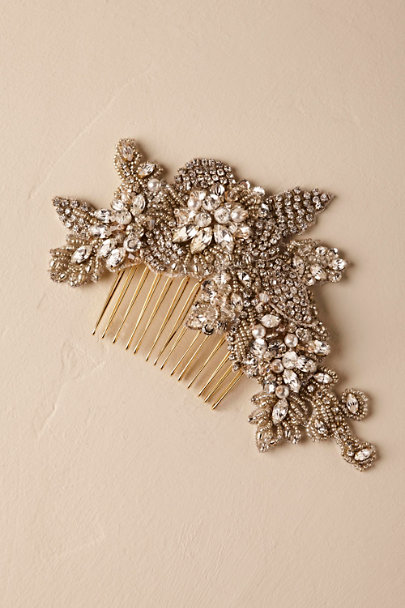 A.B. Ellie Gold Fredrica Comb | BHLDN