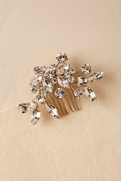 Gold Evonna Hair Comb | BHLDN