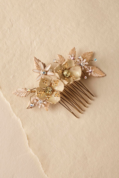 Debra Moreland Gold Amica Hair Comb | BHLDN