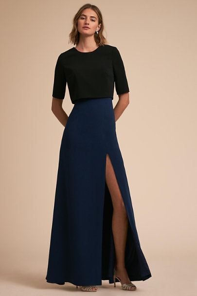 Jill Jill Stuart Navy Lucille Dress | BHLDN
