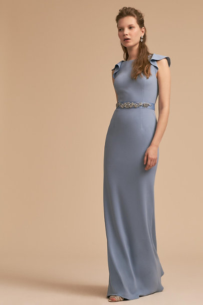 Adrianna Papell Dusty Periwinkle Eliot Dress | BHLDN