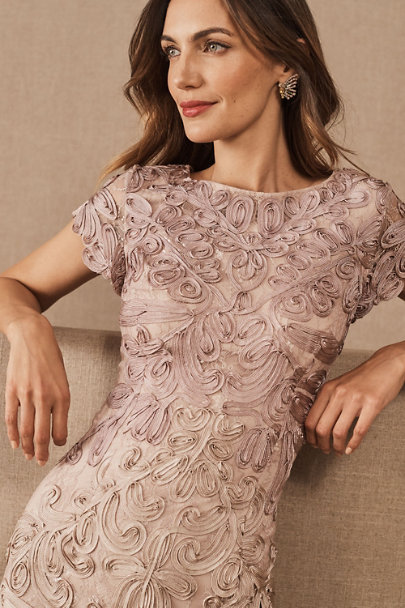 JS Collection Pink/Sand Santiago Dress | BHLDN
