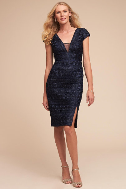 JS Collection Navy Mindy Dress | BHLDN