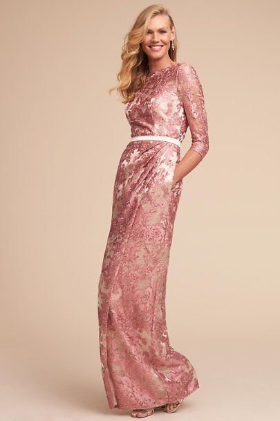 JS Collection Pink Cathleen Dress | BHLDN