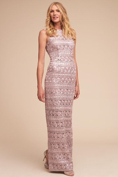 JS Collection Blush Mary Beth Dress | BHLDN