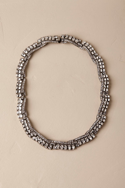 Ben-Amun Silver Arlington Collar Necklace | BHLDN