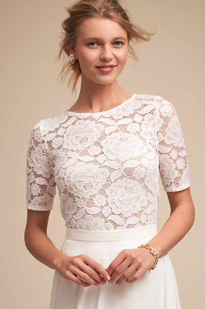 BHLDN Ivory Jive Top | BHLDN