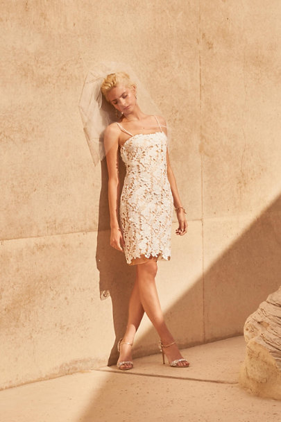 BHLDN Ivory Palmetto Dress | BHLDN