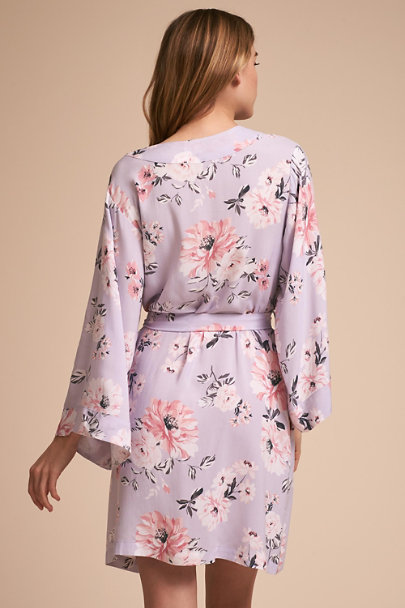 Yumi Kim Lilac Yumi Kim Morning Light Floral Robe | BHLDN