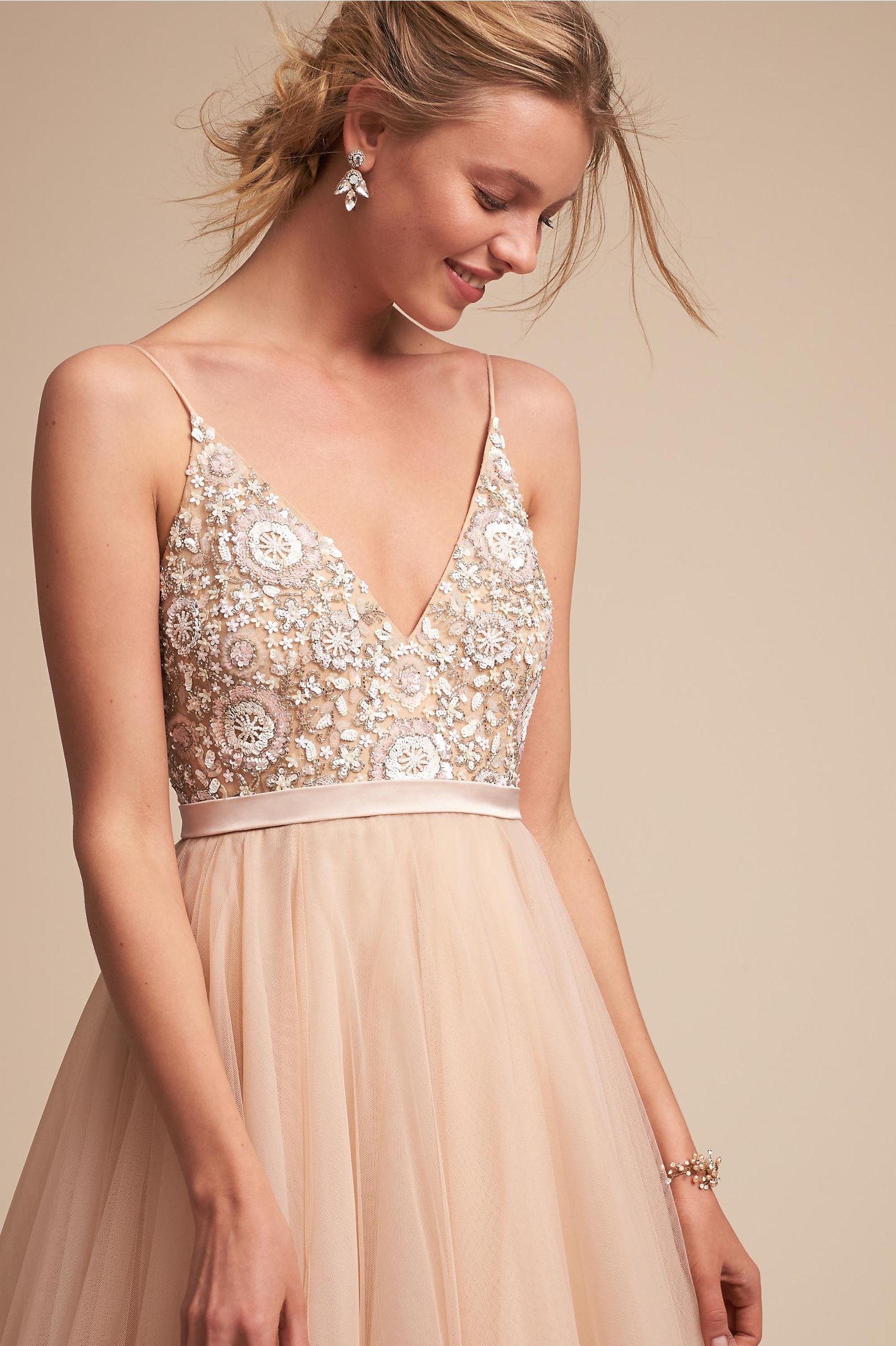 Benson Gown Rose in Sale | BHLDN
