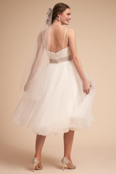 Catherine Deane Ivory Camilla Gown | BHLDN