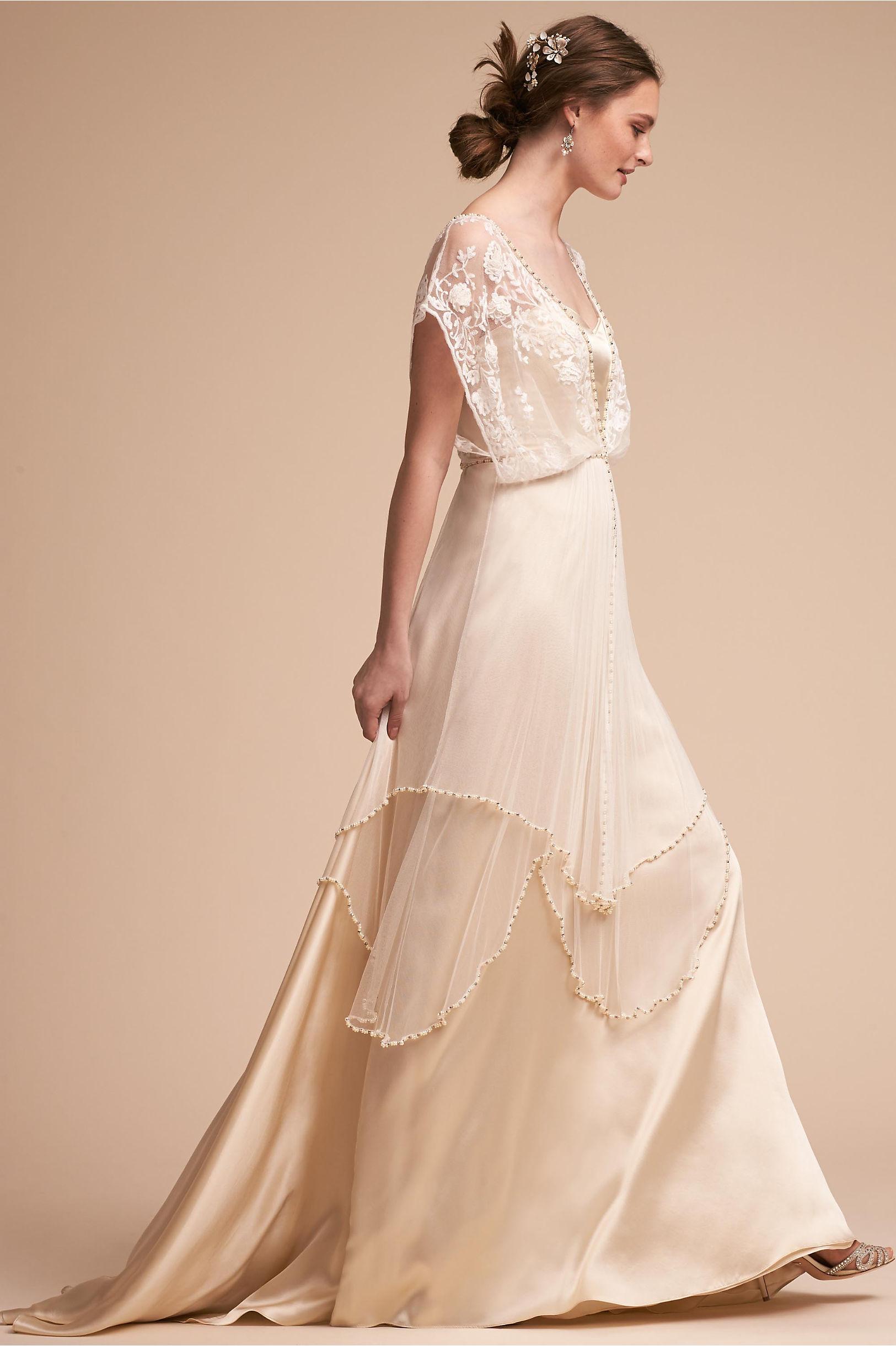 Long sleeve wedding dresses long cap sleeve bhldn lita gown lita gown junglespirit Images