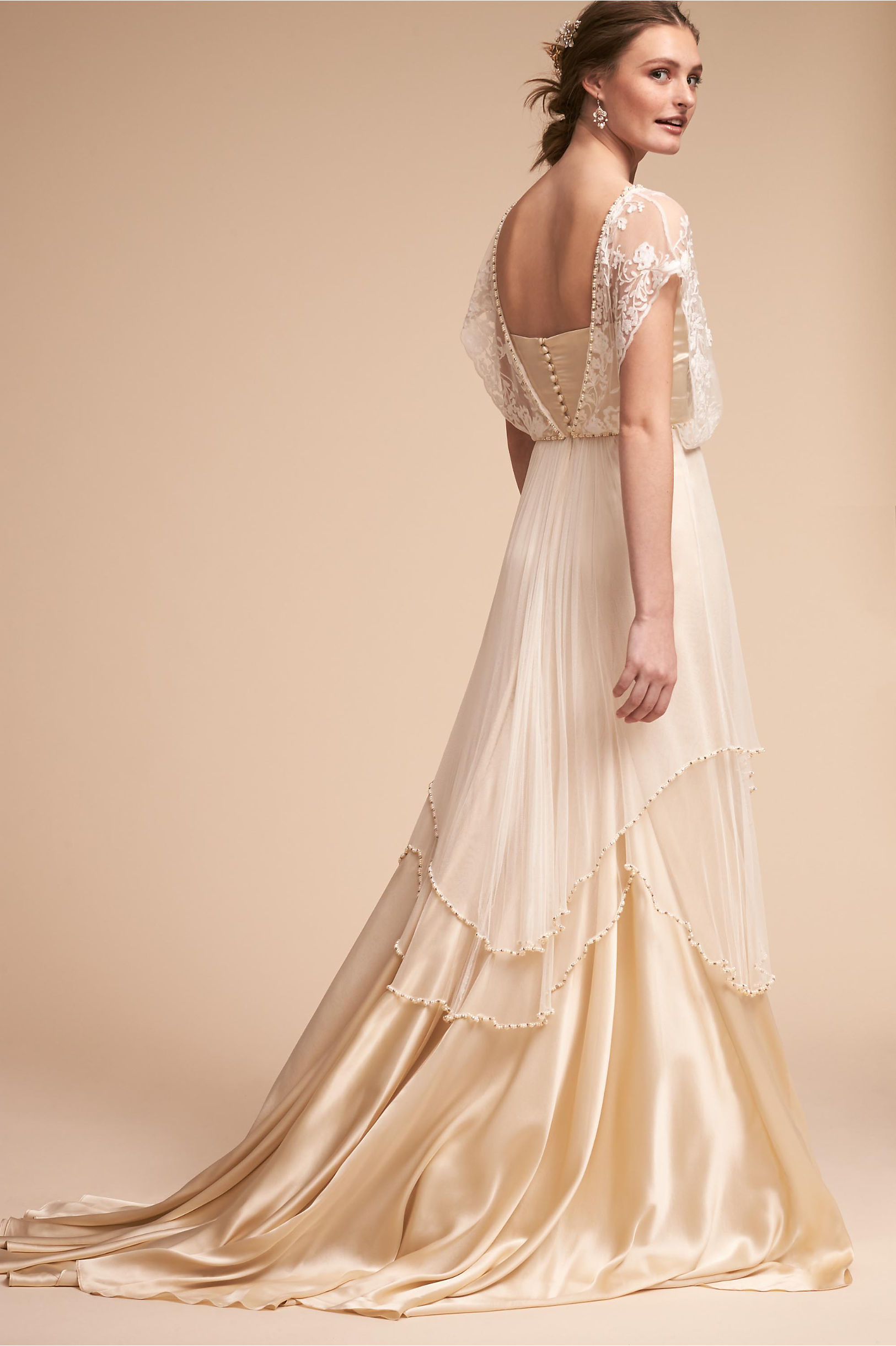 Vintage Inspired Wedding Dress | Vintage Style Wedding Dresses Lita Gown  AT vintagedancer.com