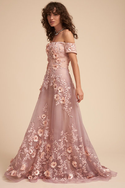 Dusty Rose Vandra Dress | BHLDN