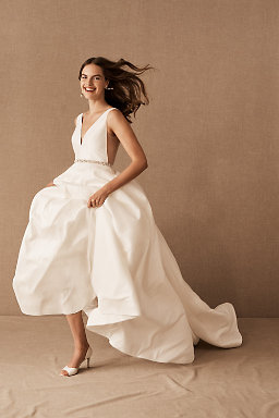 A line wedding dresses bhldn octavia gown octavia gown junglespirit Images
