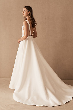Backless wedding dresses low back wedding gowns bhldn octavia gown octavia gown junglespirit Images