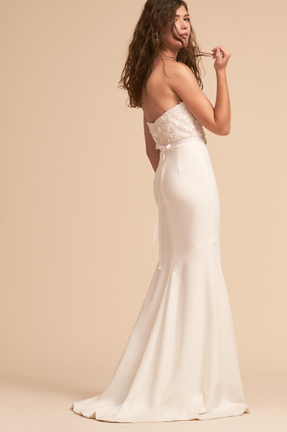 Theia Bridal Ivory Amanda Gown | BHLDN