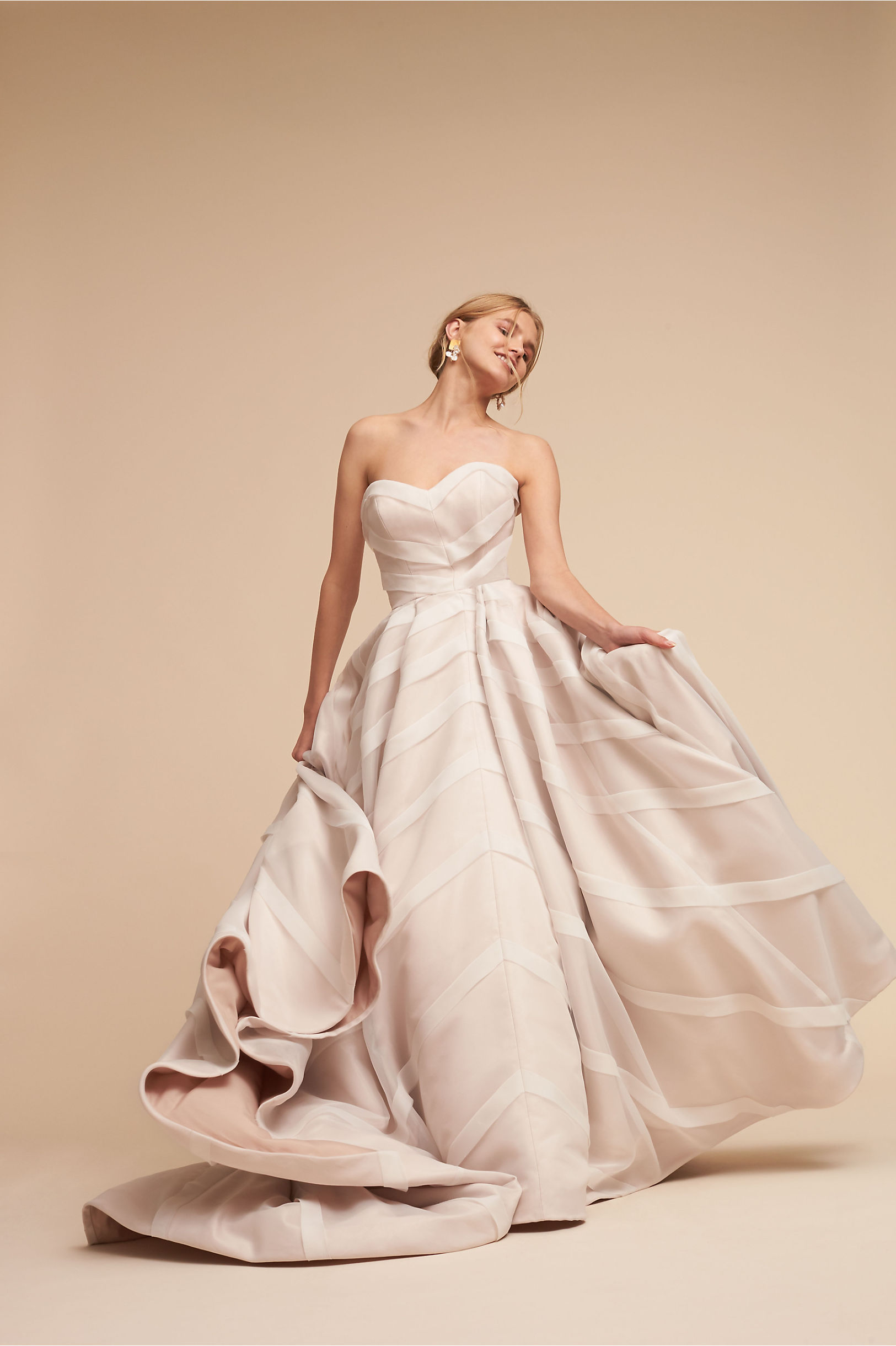 Vintage Style Wedding Dresses, Vintage Inspired Wedding Gowns Carlton Ballgown  AT vintagedancer.com
