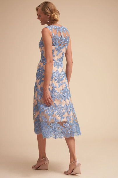 Hitherto Blue Tonya Dress | BHLDN