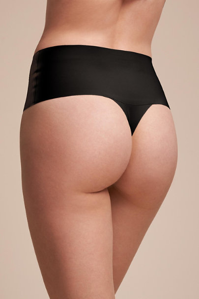 Spanx Black SPANX Smoothing Thong | BHLDN