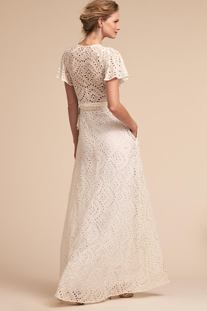 PatBO Ivory Lou Gown | BHLDN