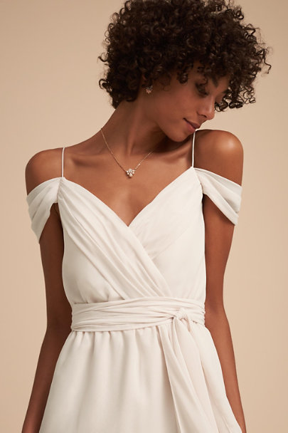 Watters Ivory Kane Dress | BHLDN