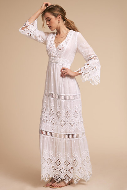 Temptation Positano Ivory Samoa Dress | BHLDN
